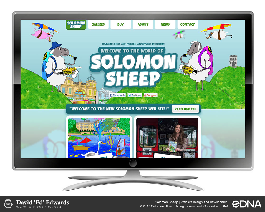 Solomon Sheep website design