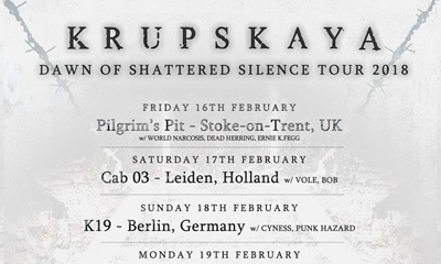 Krupskaya 'Dawn of Shattered Silence' tour diary.