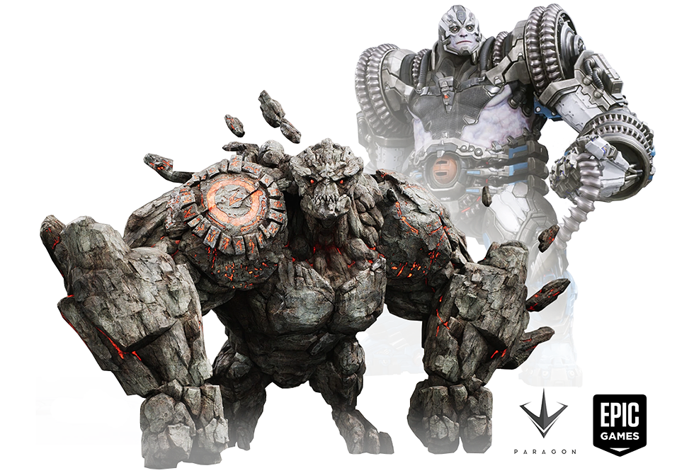 Rampage and Riktor - Paragon, Epic Games