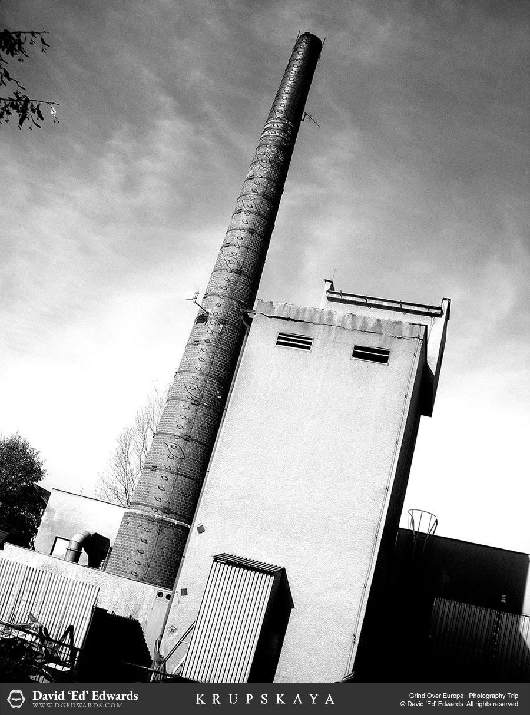 Factory in Eastern Europe