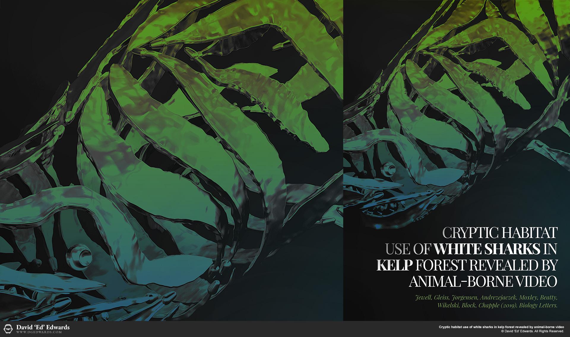 Steel Kelp Shark Sculptures