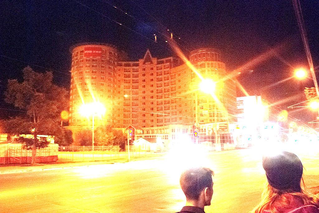 Building in Tomsk
