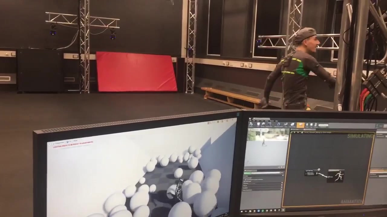 Conor-Jack, our natural born mocap performer