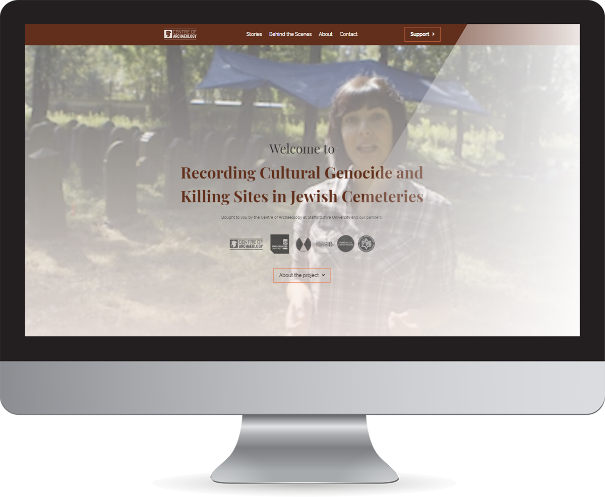 Recording Cultural Genocide homepage preview