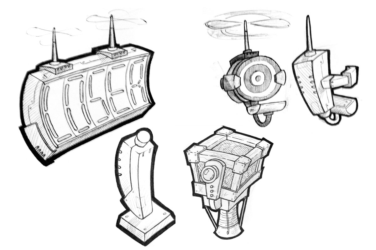 Game asset concepts