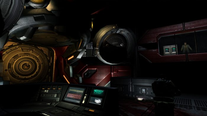 Doom 3 Delta Labs, Portal