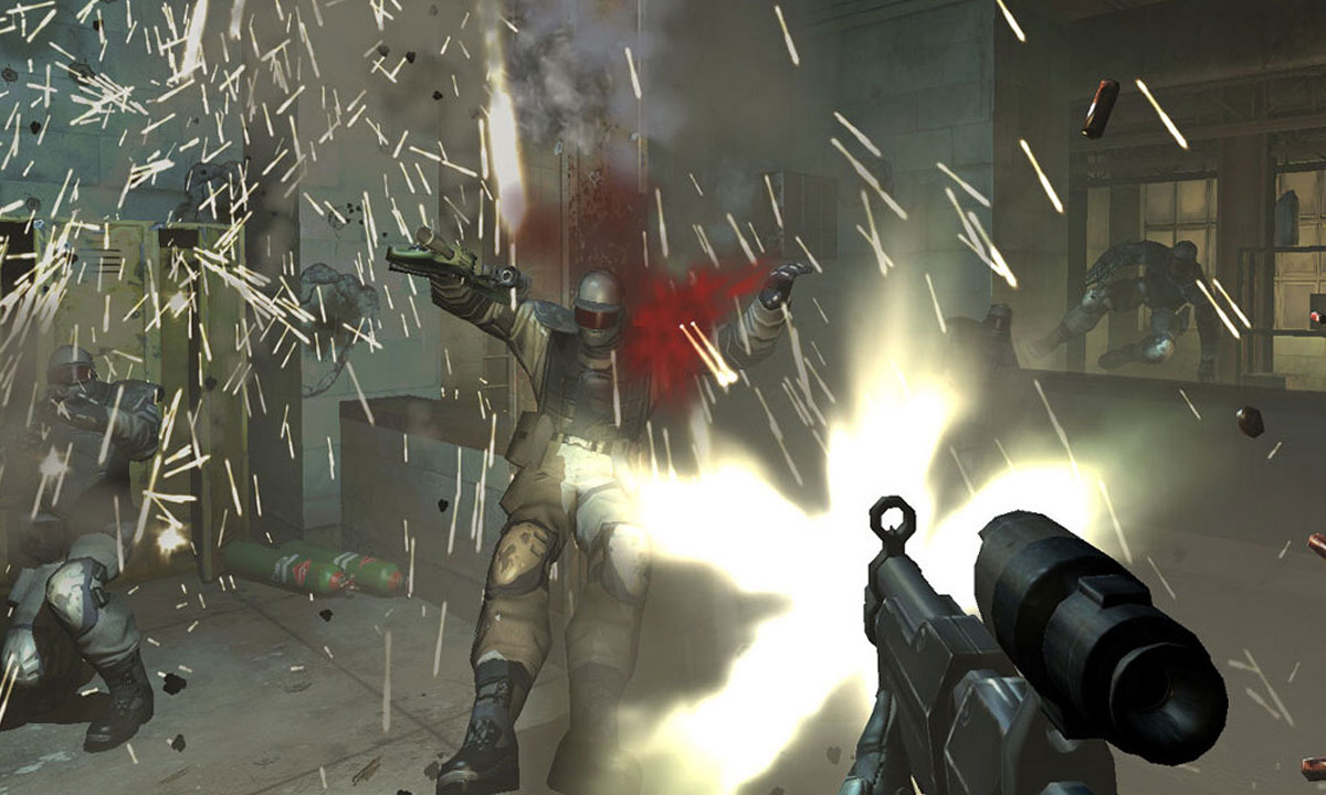 F.E.A.R. game particle effects