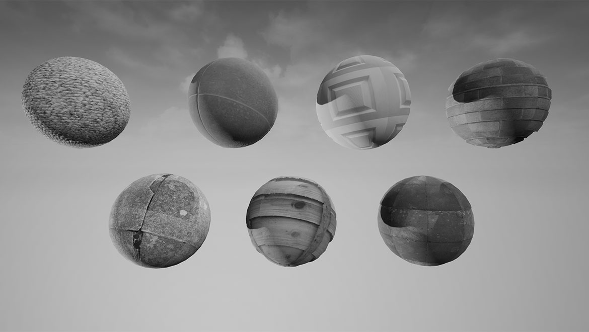 Surface materials – Daily Photogrammetry Challenge, Week Four