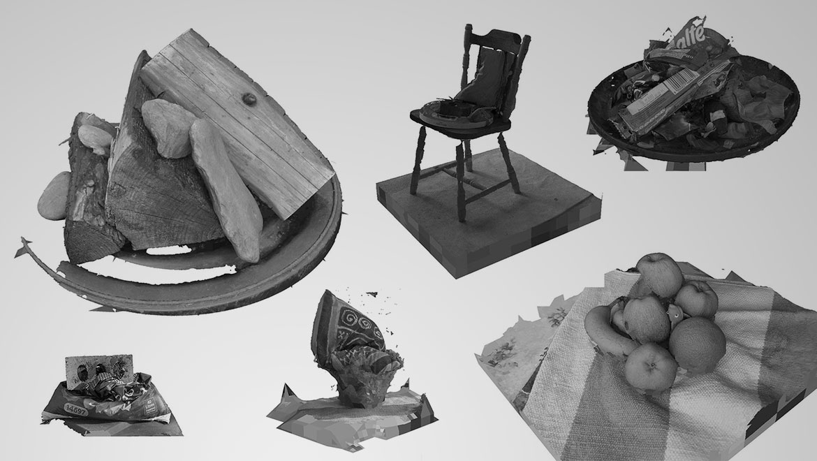 Scrutinising Piles – Daily Photogrammetry Challenge, Week Three