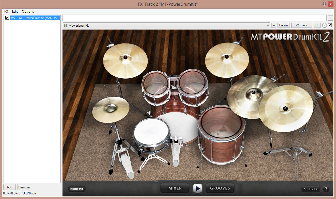 MT PowerDrumkit